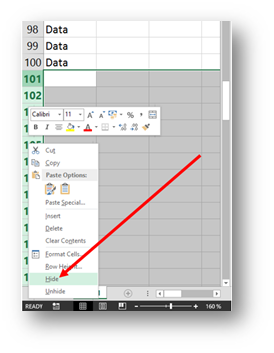 Scroll trouble in Excel