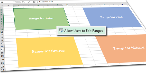 Allow Users To Edit Ranges In Excel Unpluggedexcel Unplugged. Allow Users To Edit Ranges In Excel. Worksheet. Worksheet Excel Range At Mspartners.co