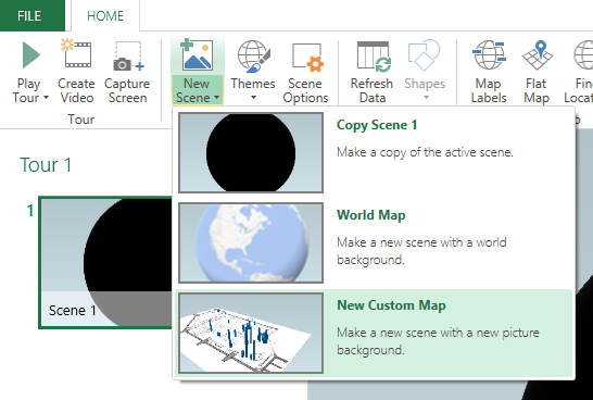 Excel, Power Map, Power BI, 3D Map, Rolling Stones