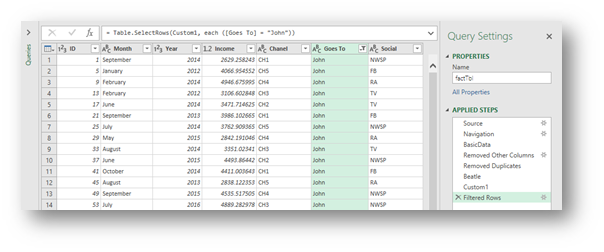 Get a random subset of data with Power Query - Excel
