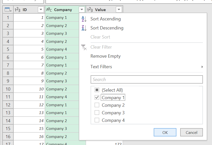 Excel Vba Filter Drop Down List