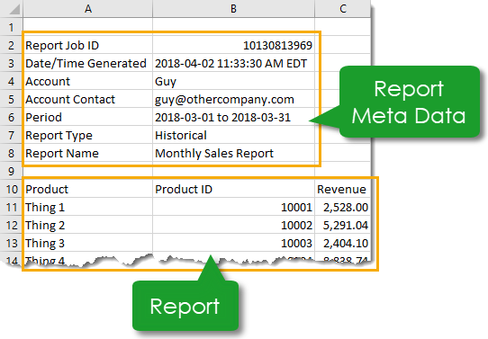 Importing CSV Files into Excel with Power Query and Changing Metadata