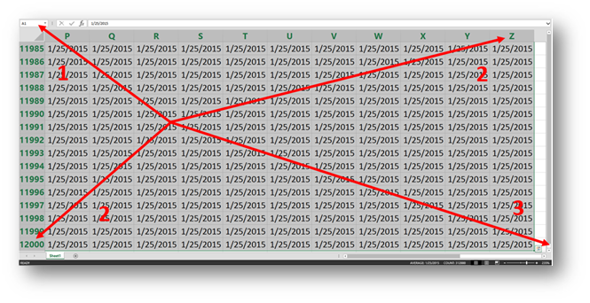 Excel Shortcut of the Year
