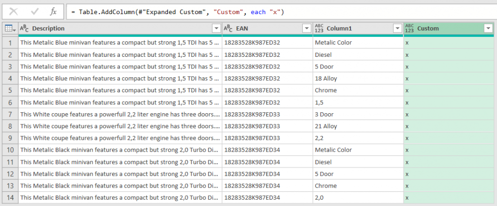 Simulating Fuzzy Matching with Text.Contains and Filter